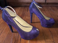 Royal Purple Shimmer Peep Toes Pittsburgh, 15243