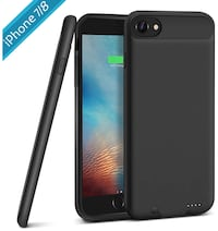 iPhone 7/8 Battery Case, 3000mAh Rechargeable Protective Charging Case