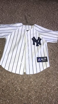 white and black New York Yankees jersey Kissimmee, 34746