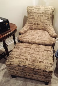 Chair and Ottoman  Grimsby, L3M 1M2