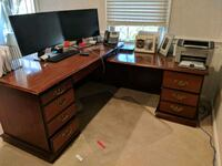 office desk ( cherry) Fairfax, 22030