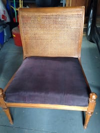 Antique teak wood chairs ASTON