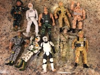 "10 Action Figures 4"" tall Los Angeles, 91405"