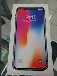 Brand new sealed iPhone X with receipt Toronto