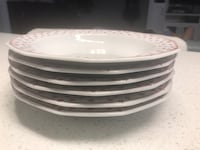 Set of authentic winterling dishes