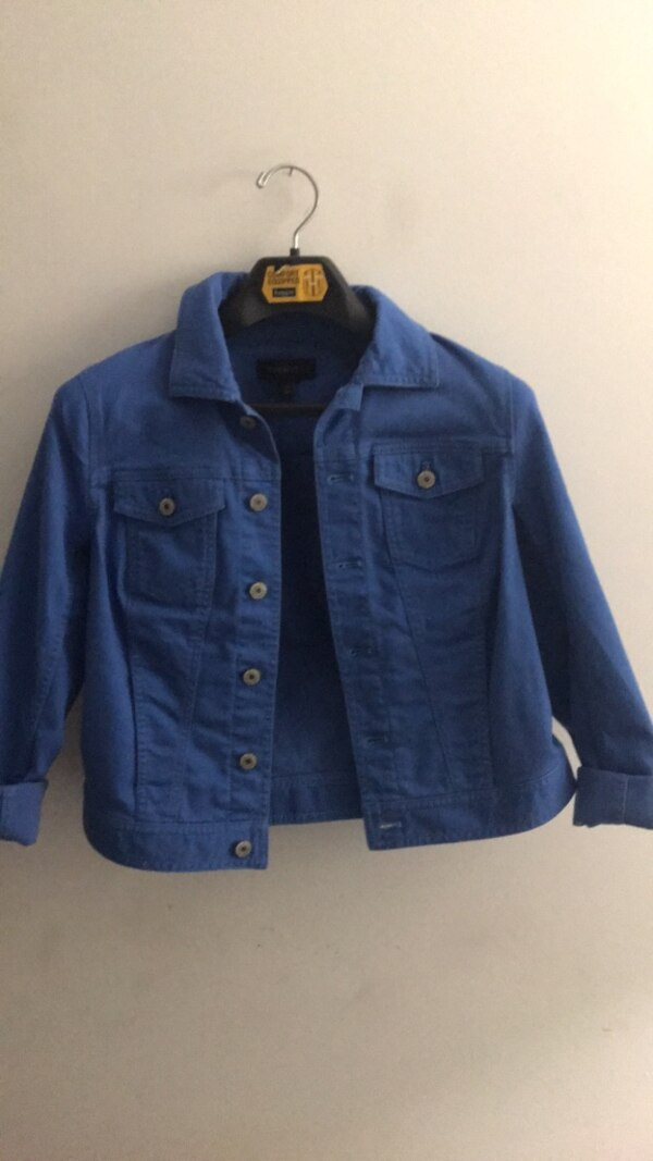 Talbots Blue button-up jacket - Size XS