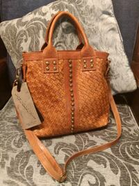 brown leather 2-way handbag Columbia, 21044