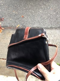 Womens girls small black brown leather purse  Monrovia, 91016