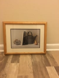 Water pot and fruit framed print Washington, 20001