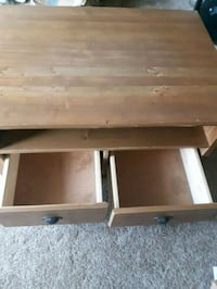 SOLID WOOD TV STAND  Edmonton, T6J 0R6