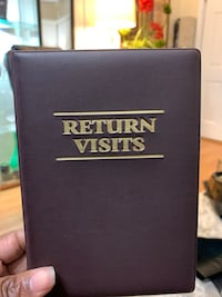 Return visit book with insert Baltimore, 21206