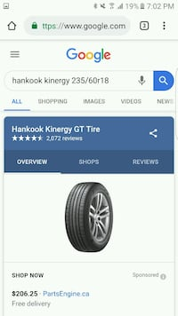Brand new 2018 Honda crv tires Langley, V2Y 2Z3
