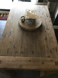 SERIOUS INQUIRIES ONLY Solid Acacia Wood bar table Toronto, M4R