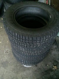 FOUR WINTER TIRES & FOUR RIMS Pickering, L1W 2H5