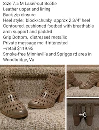 New 7.5M Womens Boots (Retail $119.95) Woodbridge, 22193