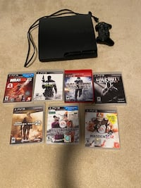 Playstation 3 + 7 Games + 1 Controller