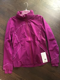 purple zip-up hoodie Clover, 29710