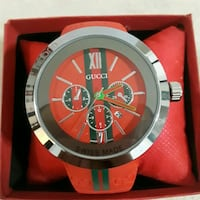 Red Gucci Wathx New with box Mississippi