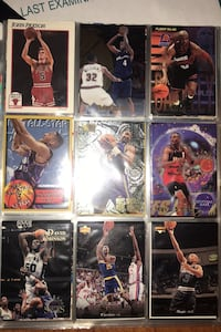 Rare Trading cards! Football/basketball. 100+ and in mint condition.