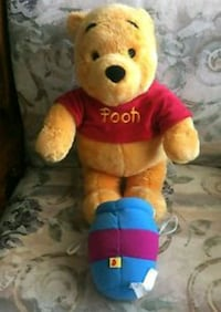 NEW Big Pooh Bear w Free Gift Boston