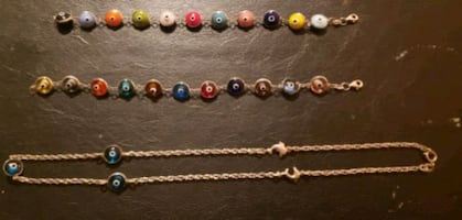 Solver Chain & 2 matching bracelets