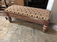 brown and white fabric ottoman Doral, 33122