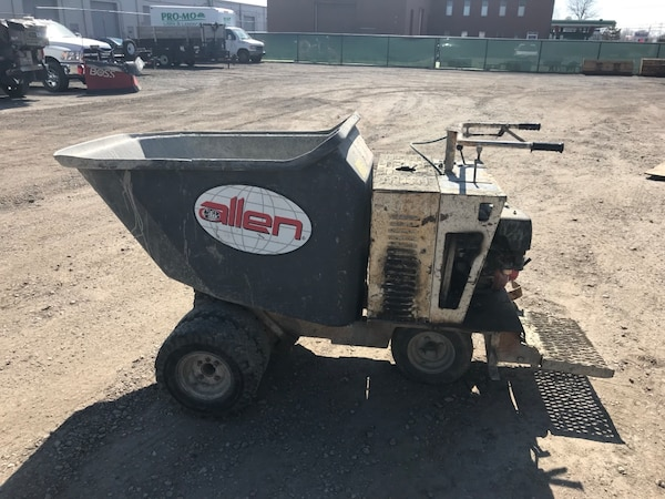 Concrete Power buggy / cement buggy