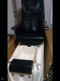 NEW !!!!!!!!SPA MASSAGE CHAIR WITH FOOT PEDICURE BATH Calgary