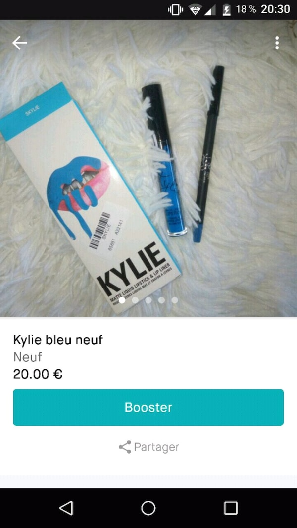 Kylie Cleu Neuf makeup set capture d'écran