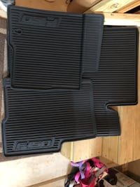 Black F150 floor Mats Washington