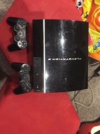 black Sony PS3 super slim console with controller Innisfil, L0L 1C0