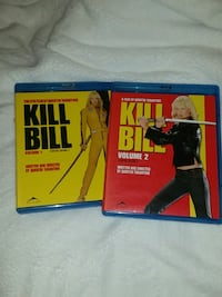 Kill Bill #1 and #2  blue ray