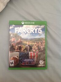 Far cry 5 brand new condition. This game just came out and you won't find it cheaper than $45