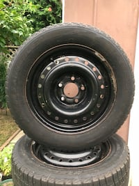 195/60R15 Winter Tire Set with Steel Rims Markham