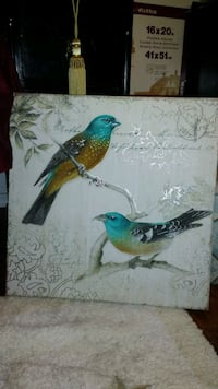green and brown bird painting. Mesa, 85207
