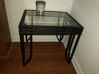 Glass end table Cockeysville, 21030