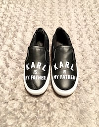 Women's Eleven Paris paid $150 Size 36 good condition. Lorde 'Karl Is My Father' Slip-Ons. Trendy Eleven Paris 'Karl Is My Father' Slip-On  Washington, 20002