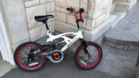 white and black BMX bike Oakville, L6M 0V8