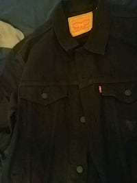 Authentic Black Levi's Jean jacket size XL