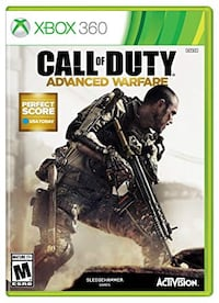 Xbox 360 Call of Duty Advanced Warfare and Ghosts  Brampton, L6Y 4Y4