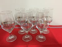 22K Gold 88 Olympic  Water Glasses Vaughan, L6A 1E8