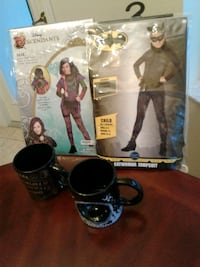New costumes and mugs