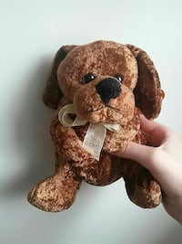 brown and black bear plush toy