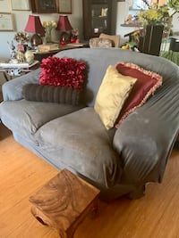 Luxurious BROWN Love Seat - Preserved Under Couch Cover (Cover isn't for Sale)   Los Angeles, 91606