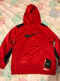 red and black Nike pullover hoodie Montréal, H3S 1M4