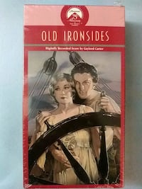 Old Ironsides vhs