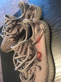 Pair of gray adidas yeezy boost 350 v2 Asheville, 28806