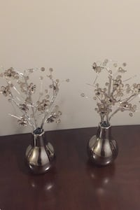Decor pieces ( table top) price is for both together  Brampton, L6V 3J4