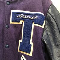 Vintage Letterman Jacket Washington