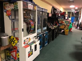 Large Arcade /Candy Machine Collection For Sale